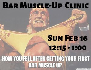 Bar Muscle-Up Clinic | CrossFit DFW