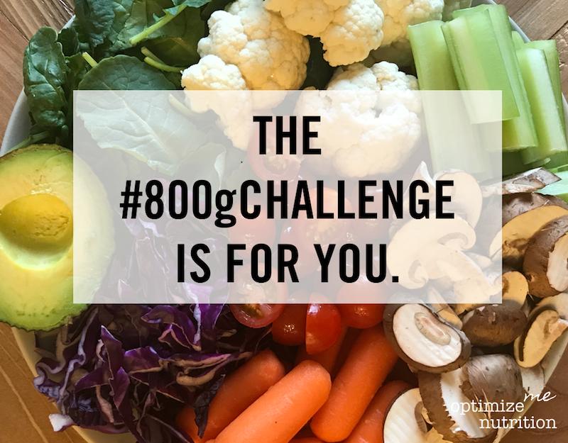 800 Gram Nutrition Challenge