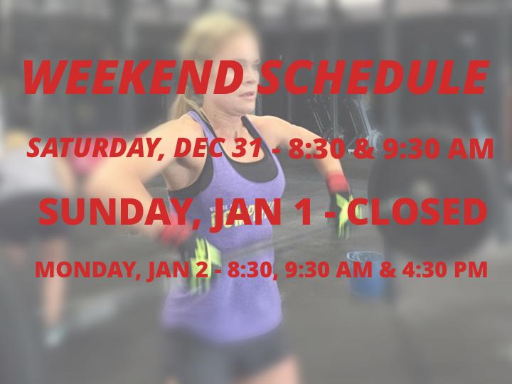 CrossFit DFW Schedule